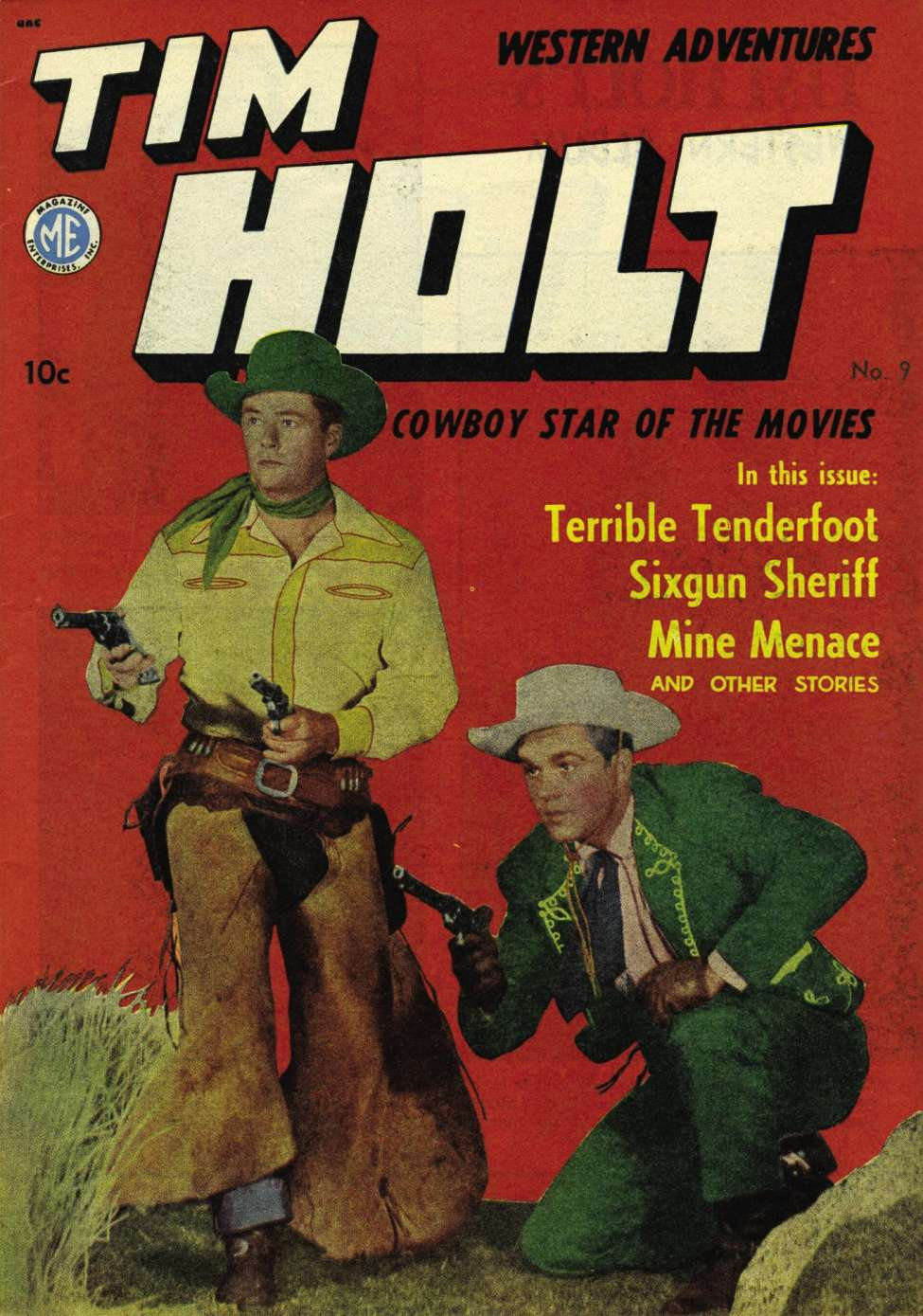 Comic Book Cover For Tim Holt #9