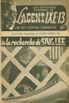 Cover For L'Agent IXE 13 v2 24 À la recherche de Sing Lee