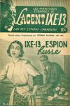 Cover For L'Agent IXE 13 v2 142 IXE 13 Espion Russe