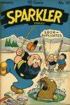 Cover For Sparkler Comics 51