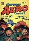 Cover For Captain Aero Comics 21