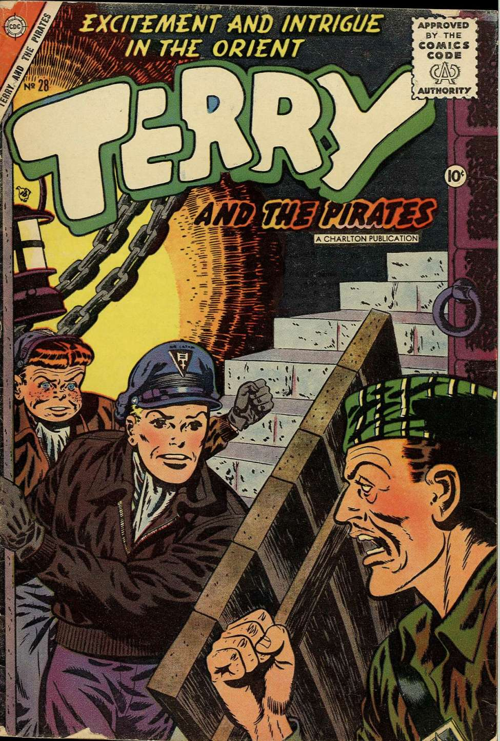 Comic Book Cover For Terry and the Pirates #28