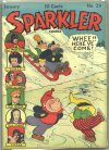 Cover For Sparkler Comics 29