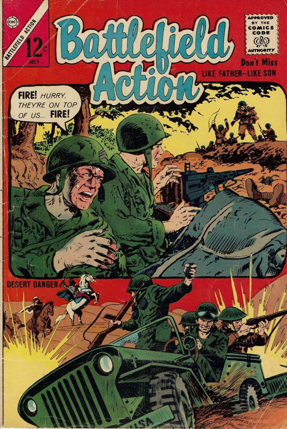 Comic Book Cover For Battlefield Action #48