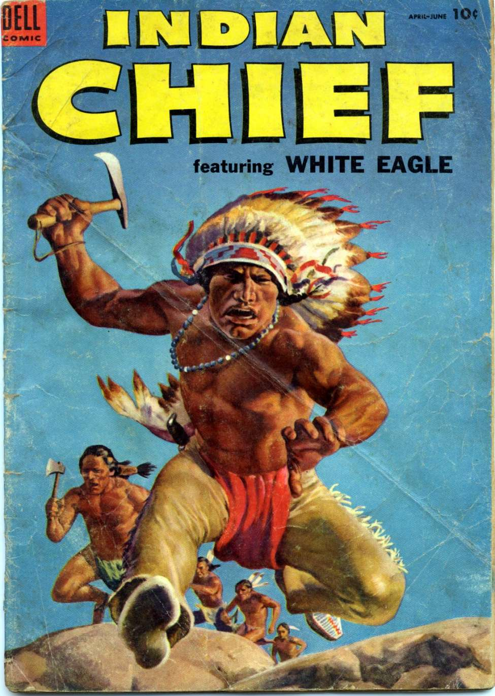 Comic Book Cover For Indian Chief #14