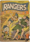 Cover For Rangers Comics 5