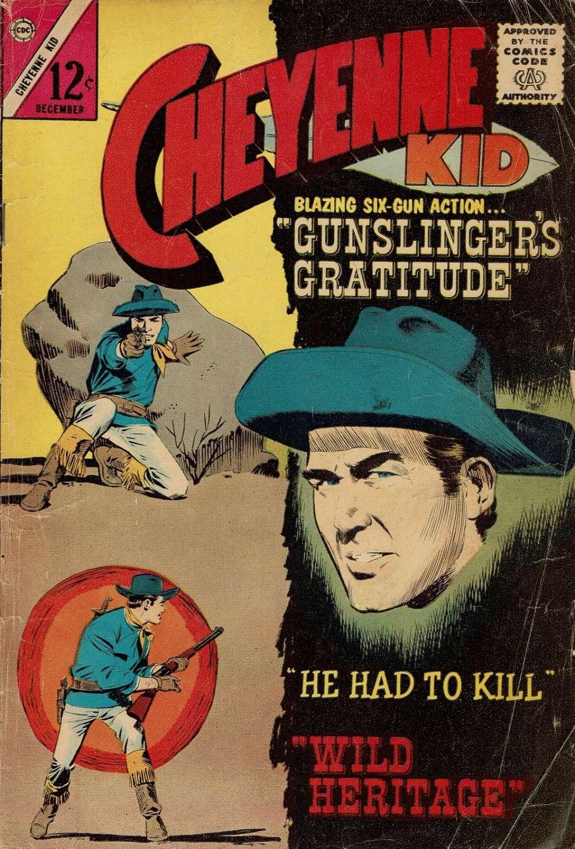 Comic Book Cover For Cheyenne Kid #43