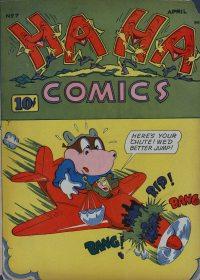 Large Thumbnail For Ha Ha Comics #7