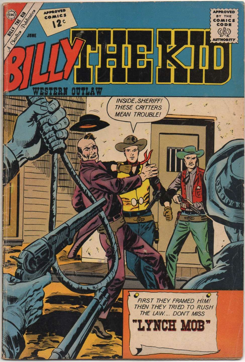 Comic Book Cover For Billy the Kid #34
