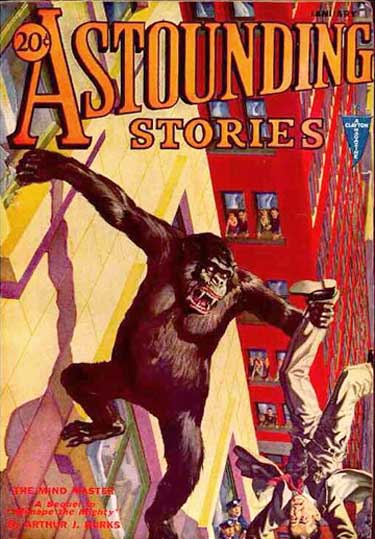 Comic Book Cover For Astounding v09 01 - Creatures of Vibration - Harl Vincent