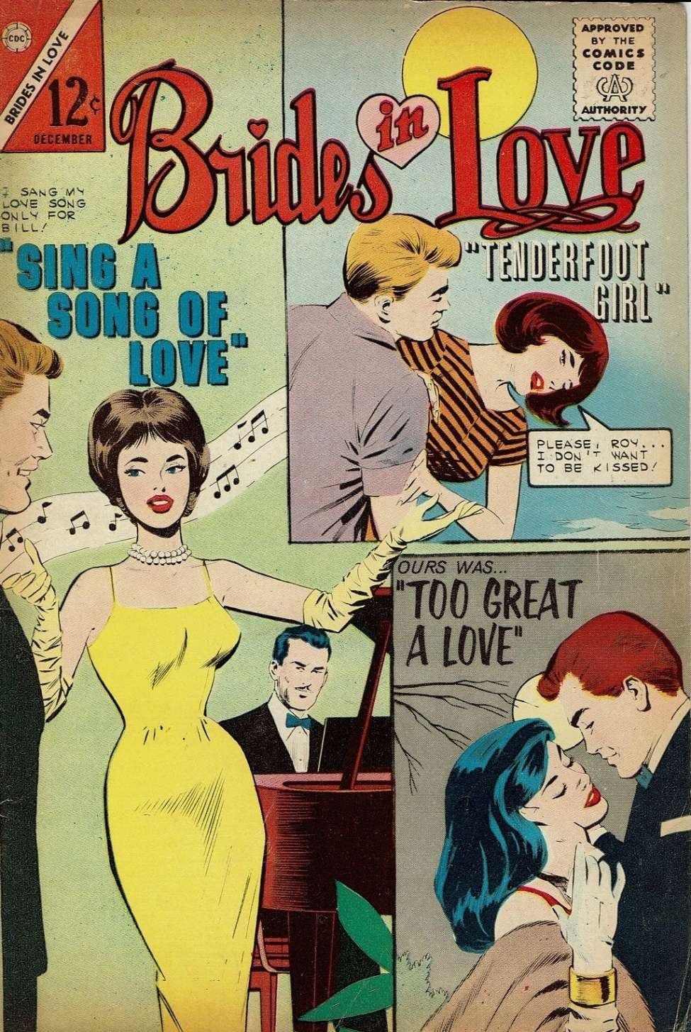 Comic Book Cover For Brides in Love #39