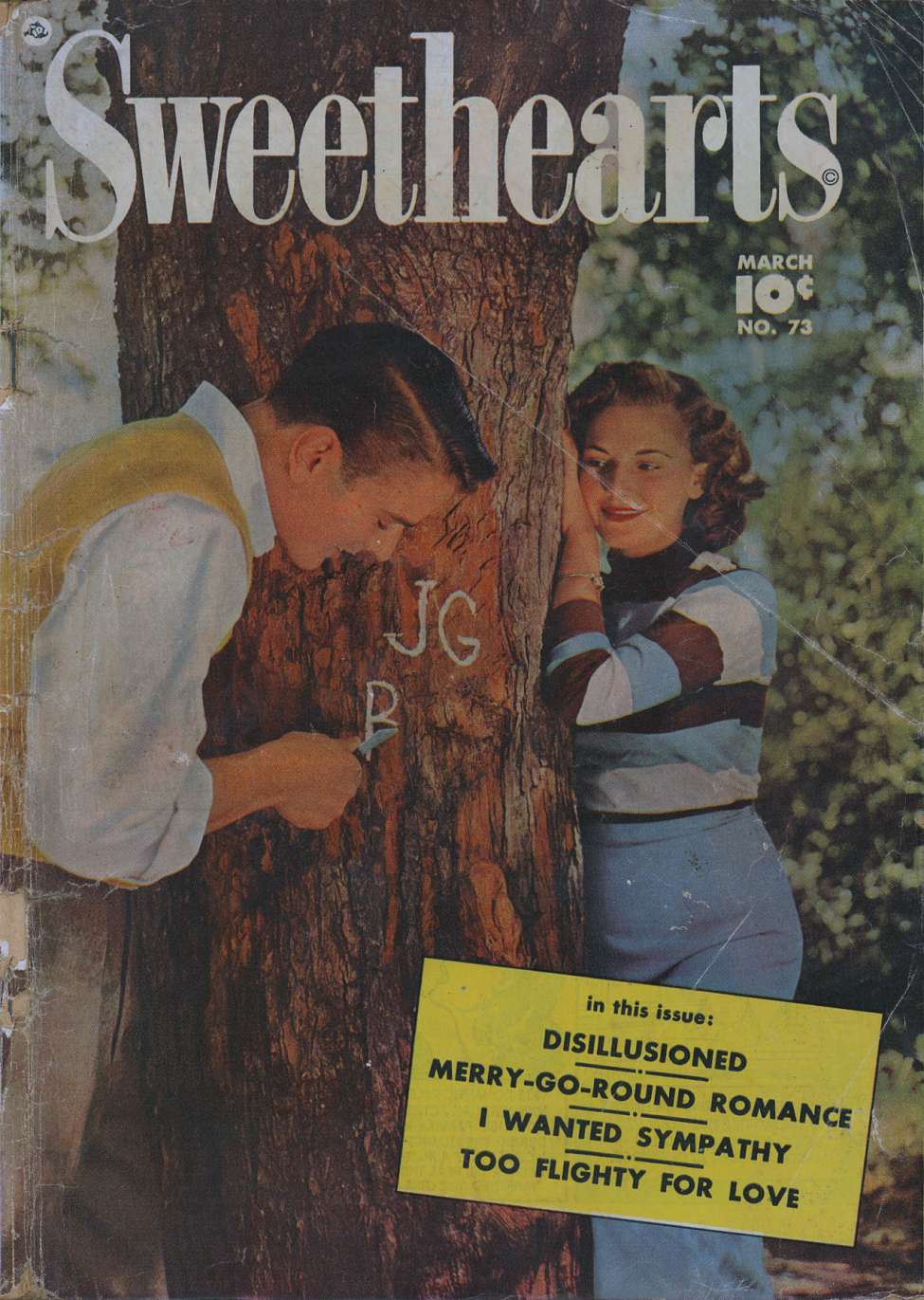 Comic Book Cover For Sweethearts #73