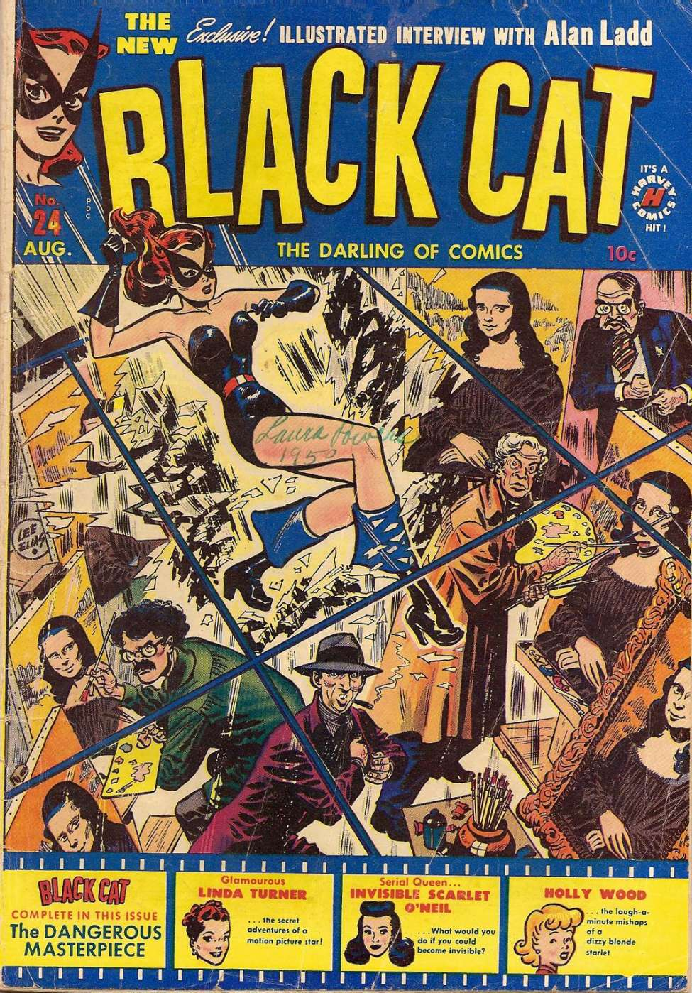 Comic Book Cover For Black Cat #24