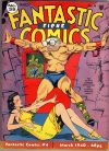 Cover For Fantastic Comics 4