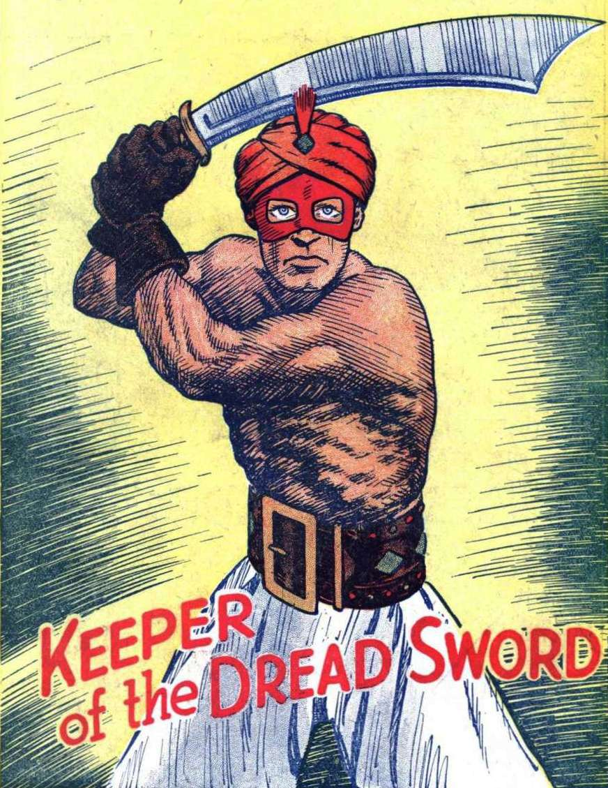 Comic Book Cover For Keeper of the Dread Sword Collection