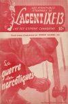 Cover For L'Agent IXE 13 v2 91 La guerre des narcotiques