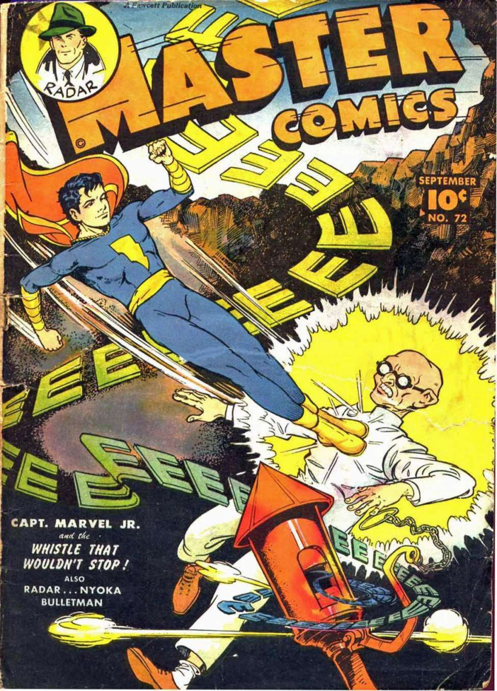 Comic Book Cover For Capt. Marvel Jnr Compilation Vol 10
