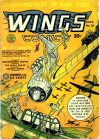 Cover For Wings Comics 25