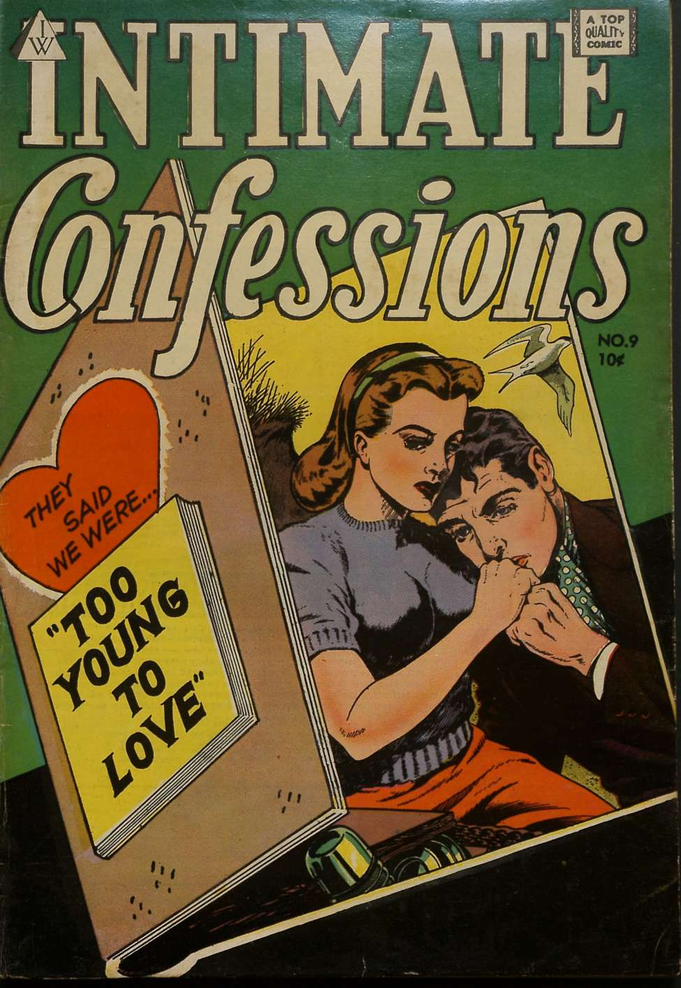 Comic Book Cover For Intimate Confessions 09