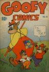 Cover For Goofy Comics 13