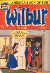 Cover For Wilbur Comics 33