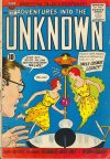 Cover For Adventures into the Unknown 122