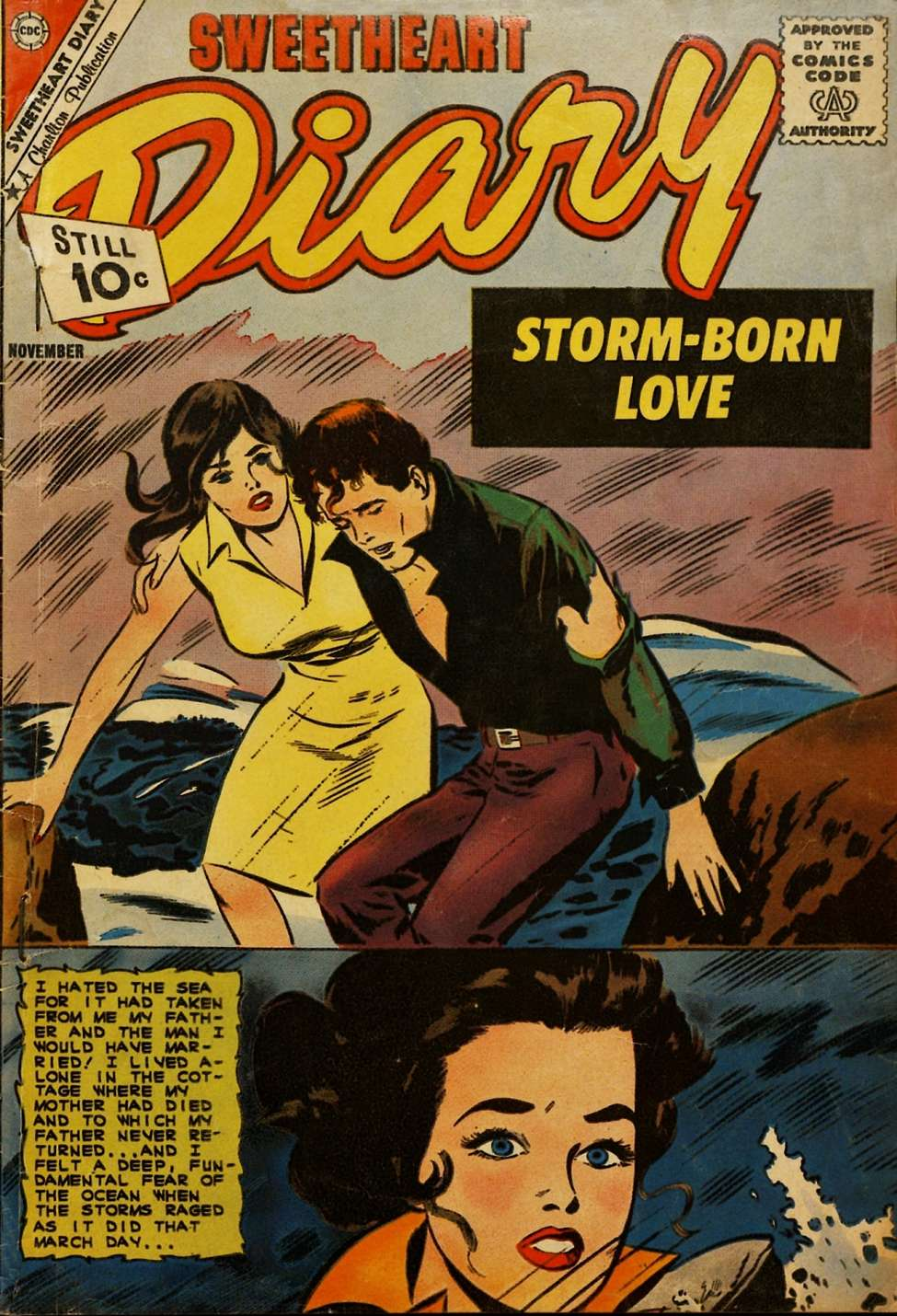 Comic Book Cover For Sweetheart Diary #61