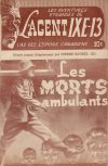 Cover For L'Agent IXE 13 v2 55 Les morts ambulants