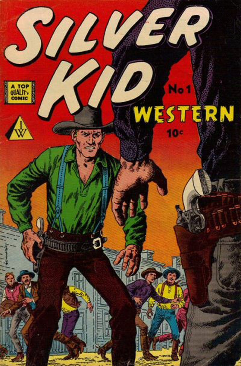 Comic Book Cover For Silver Kid Western #1