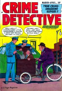 Large Thumbnail For Crime Detective Comics v2 #7