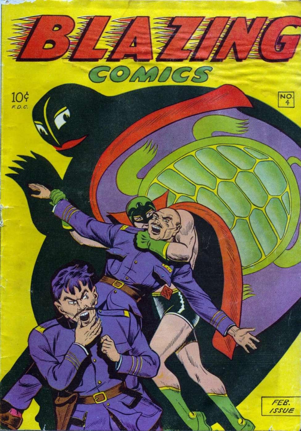 Comic Book Cover For Blazing Comics v2 1 (4)