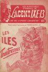 Cover For L'Agent IXE 13 v2 44 Les îles traitresses