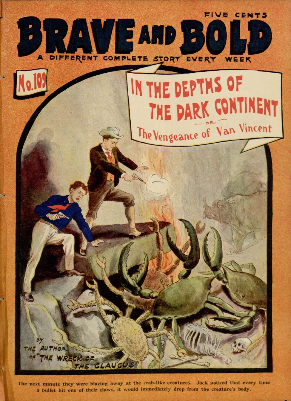 Comic Book Cover For Brave And Bold 109