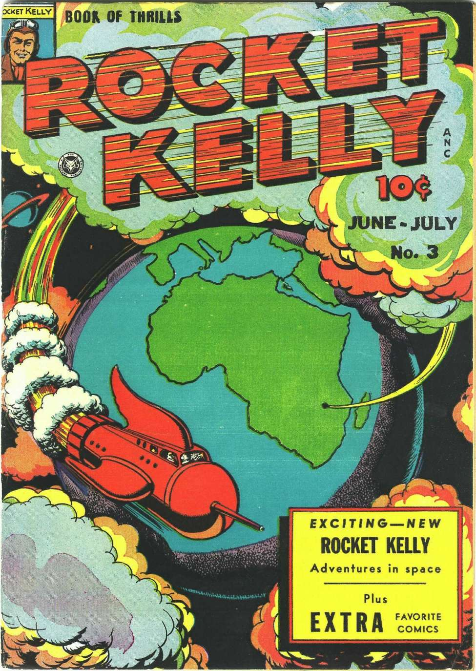 Comic Book Cover For Rocket Kelly #3