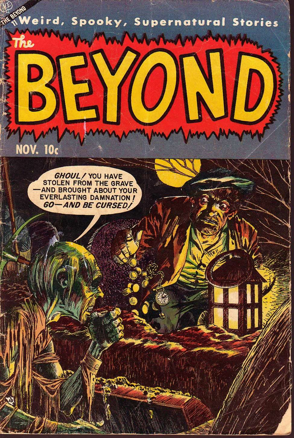 Comic Book Cover For The Beyond #23