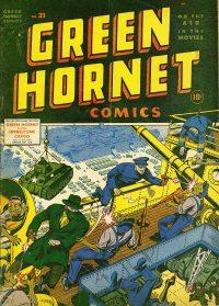 Large Thumbnail For Green Hornet Comics #21