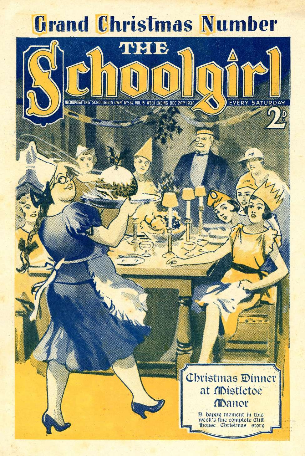 Comic Book Cover For The Schoolgirl 387
