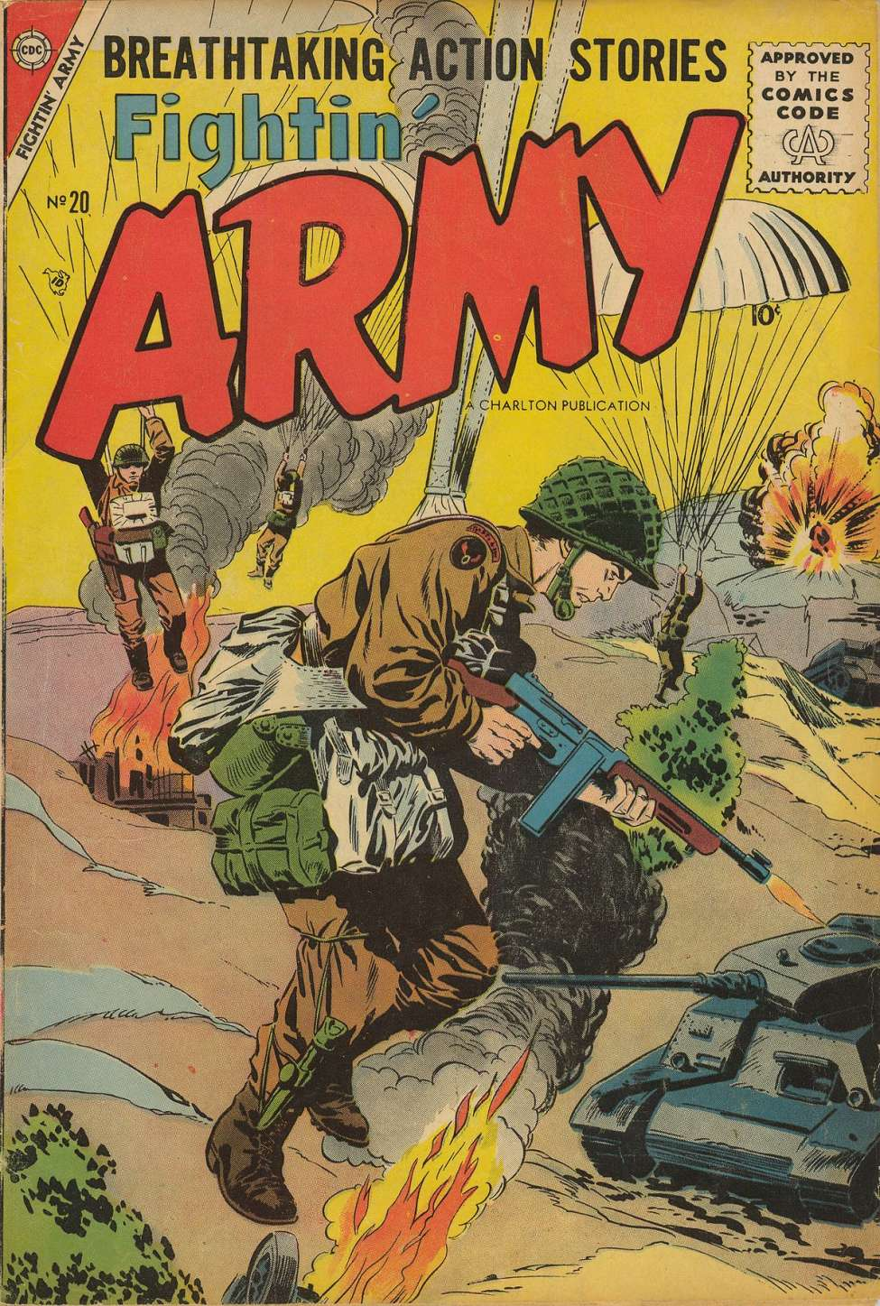 Comic Book Cover For Fightin' Army #20