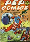 Cover For Pep Comics 3