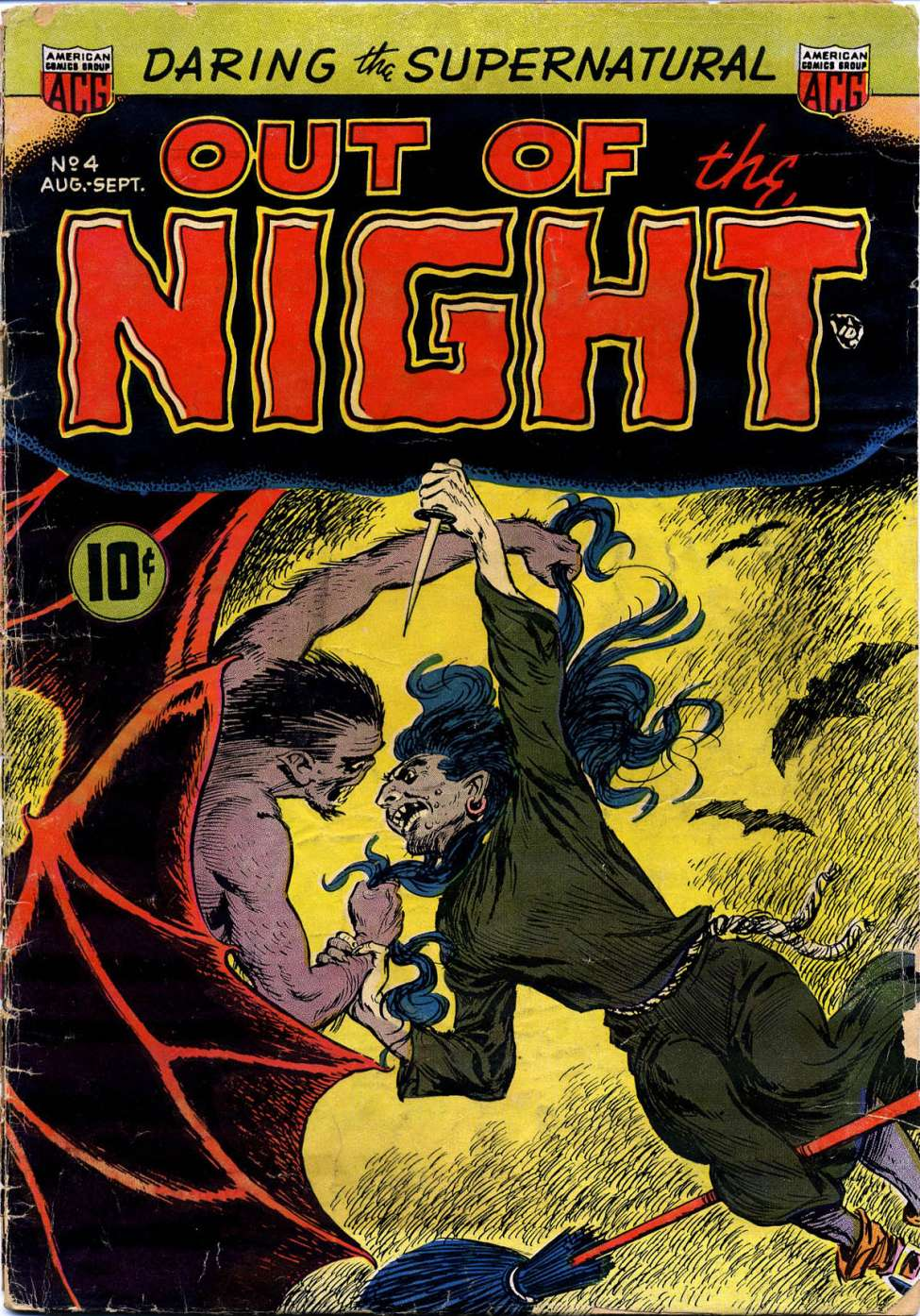 Comic Book Cover For Out of the Night #4