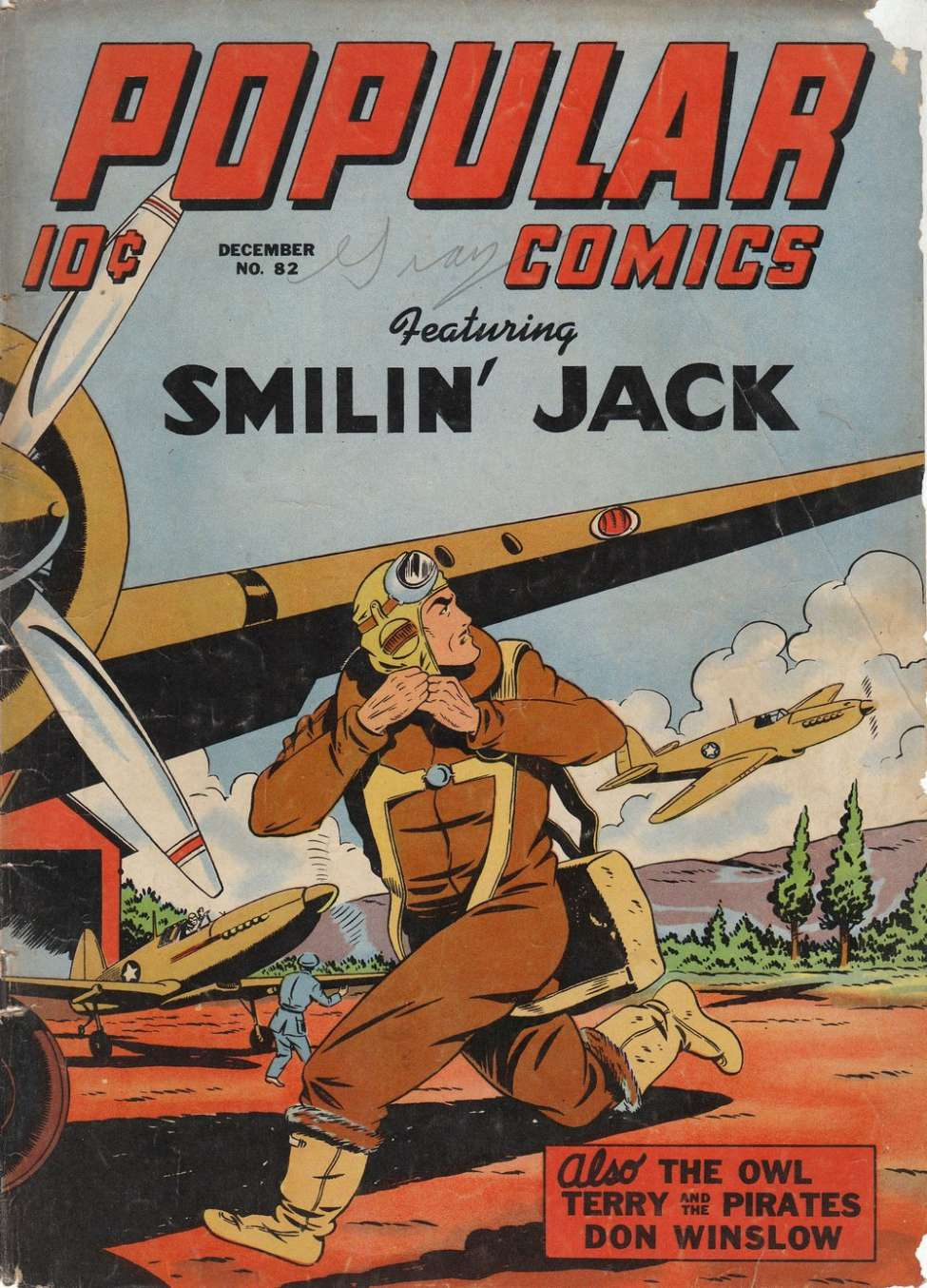 Comic Book Cover For Popular Comics #82