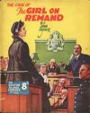 Cover For Sexton Blake Library S3 255 The Case of the Girl on Remand