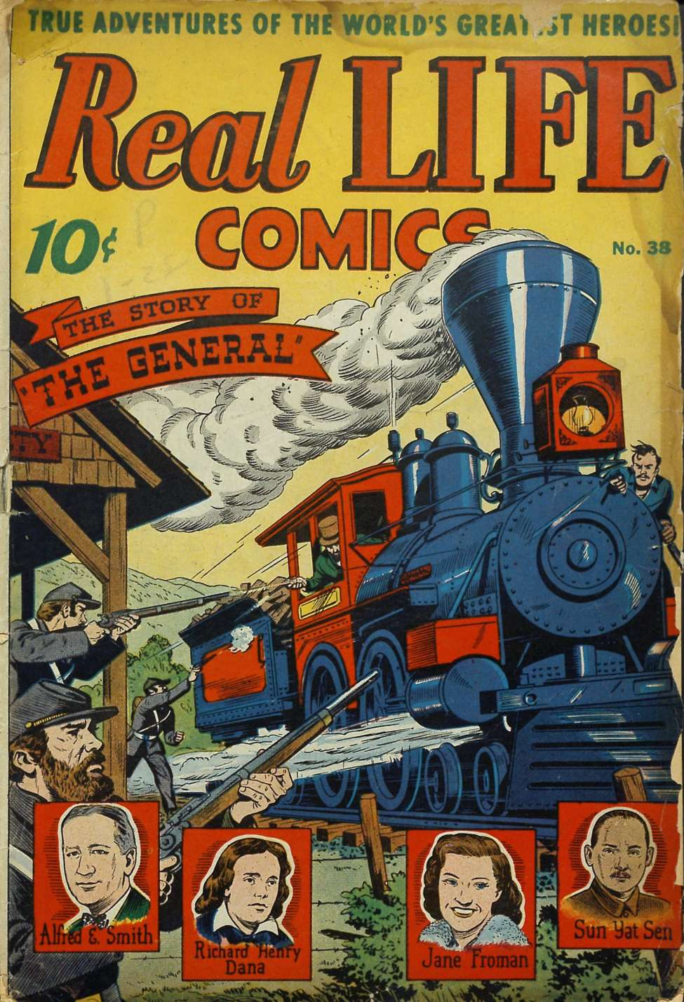 Comic Book Cover For Real Life Comics #38