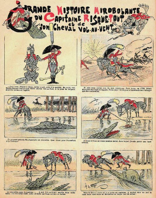 Comic Book Cover For Grande Histoire Mirobolante du Capitaine Risquetout