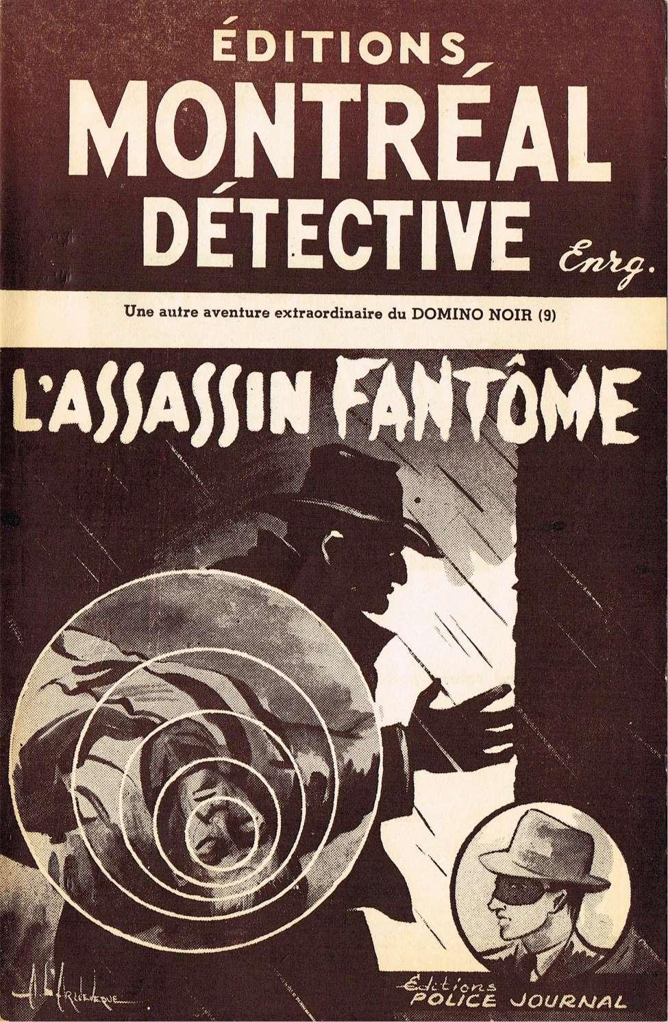 Comic Book Cover For Domino Noir v2 09 - L'assassin fantôme
