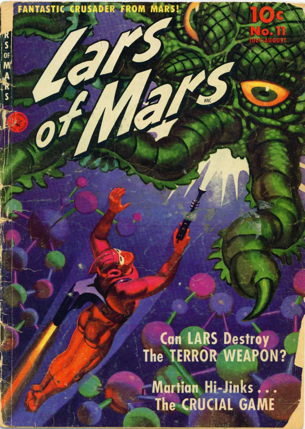 Comic Book Cover For Lars of Mars #11