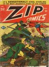 Cover For Zip Comics 32