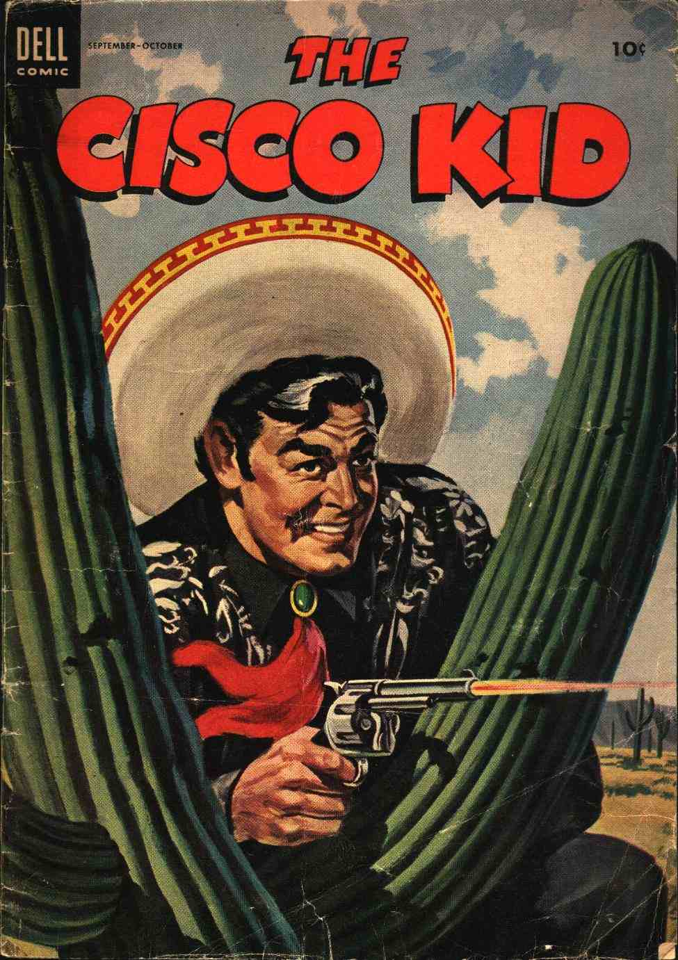 Comic Book Cover For The Cisco Kid 23