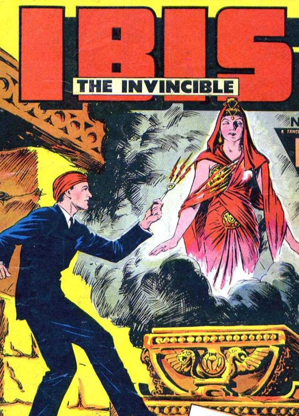Comic Book Cover For IBIS The Invincible Vol 20