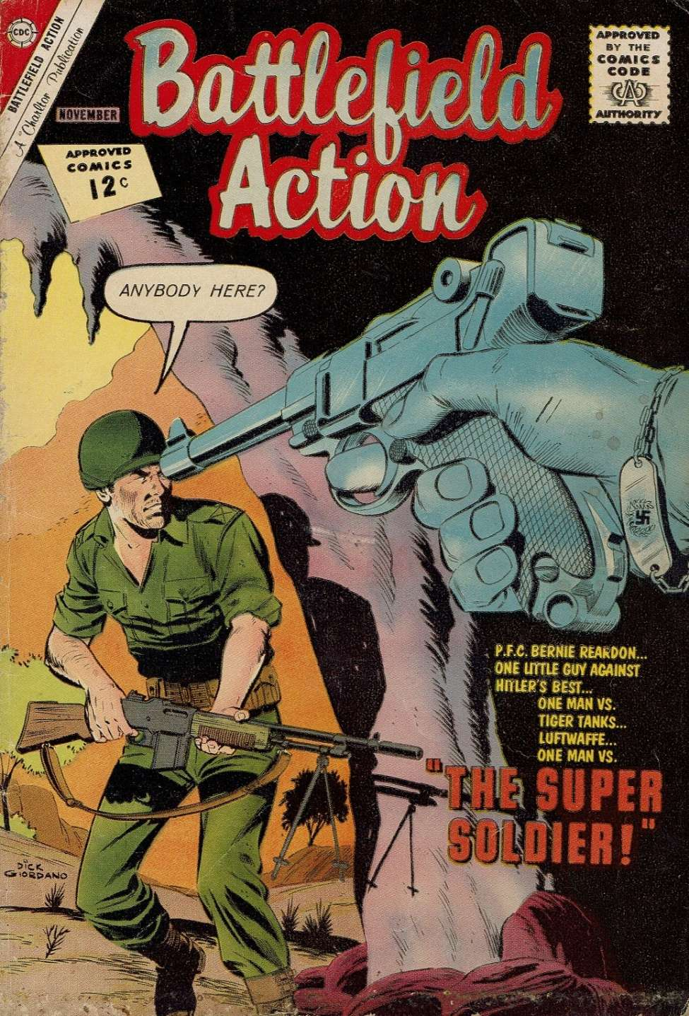Comic Book Cover For Battlefield Action #44